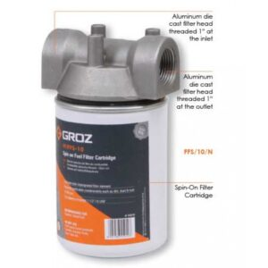 FUEL FILTER - SPIN ON CARTRIDGE STYLE